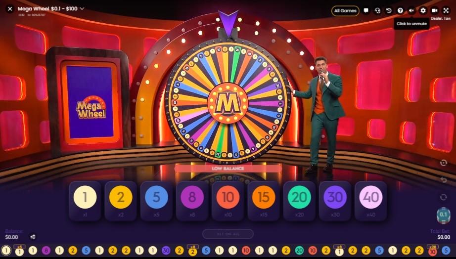 Playamo Casino Live Game Show