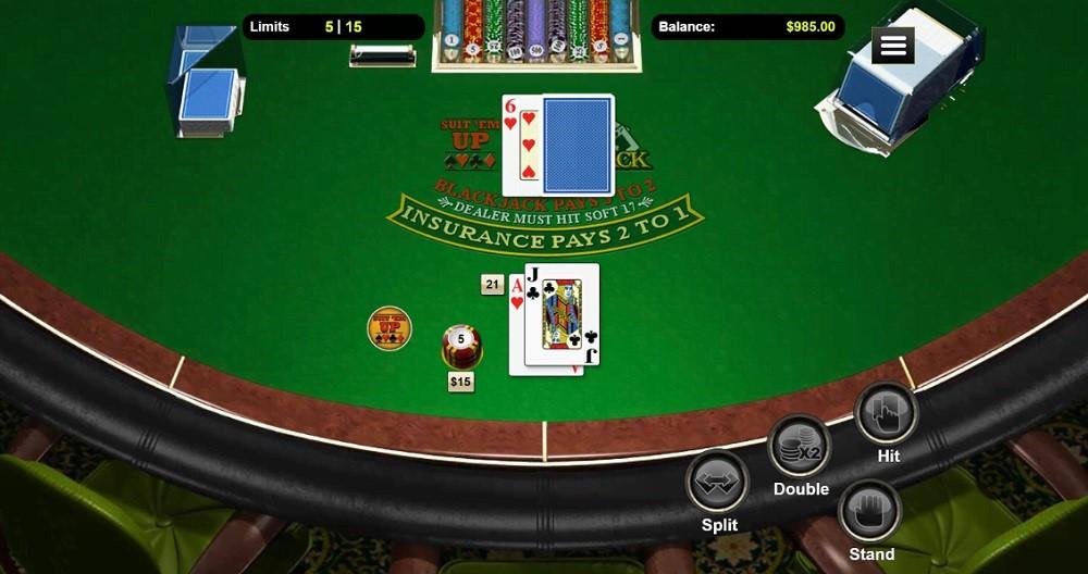 Prism Casino Automated Blackjack