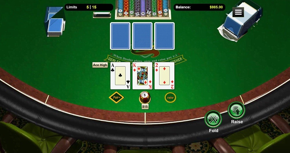 Prism Casino Automated Poker