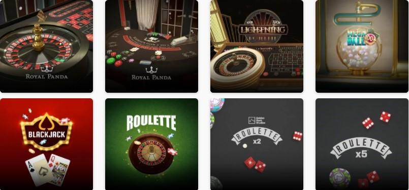 Royal Panda Casino Automated Casino Table Games