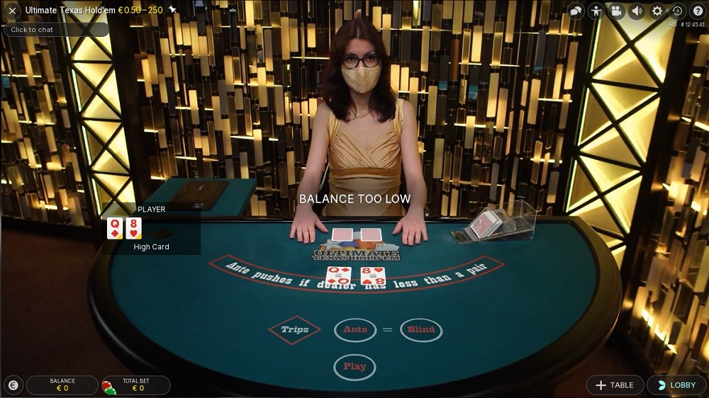 Royal Panda Casino Live Poker
