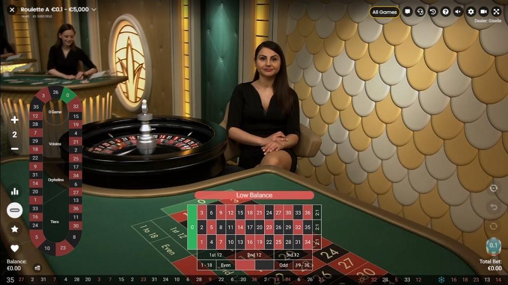Royal Panda Casino Live Roulette
