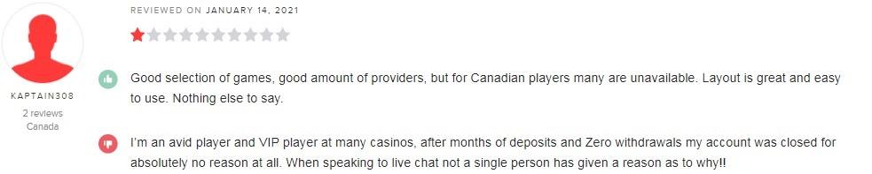 Royal Panda Casino Player Review