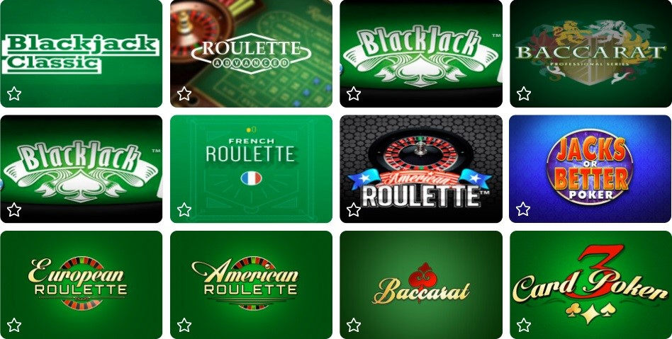 Ares Casino Automated Casino Table Games