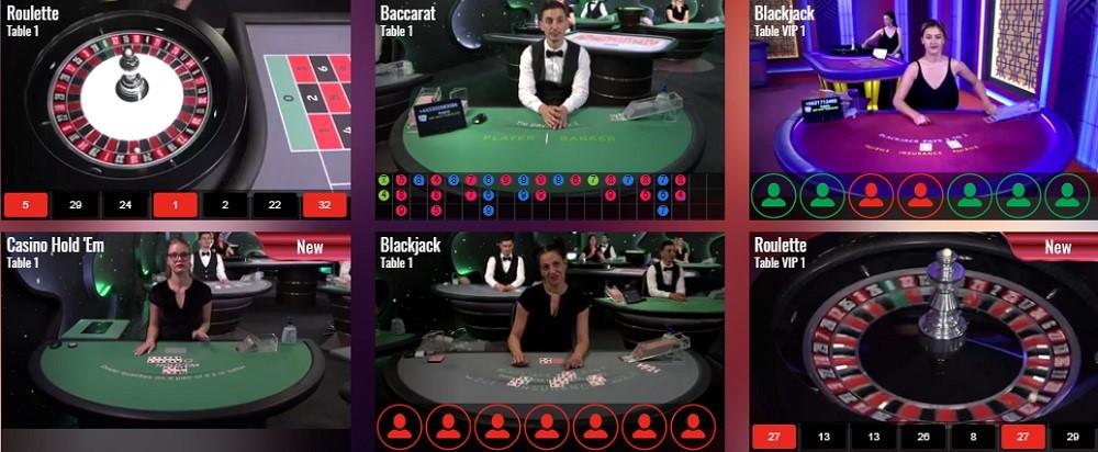 Ares Casino Live Casino Games