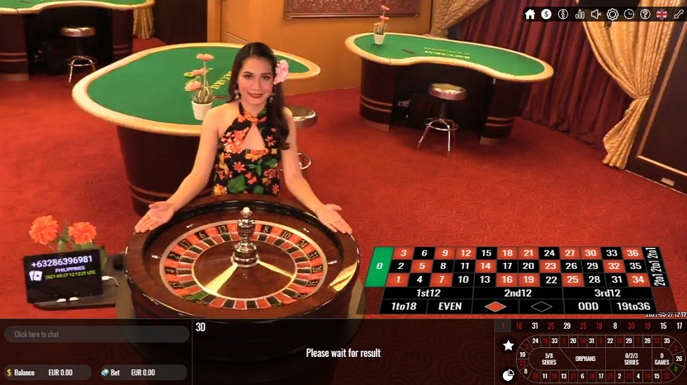 Ares Casino Live Roulette