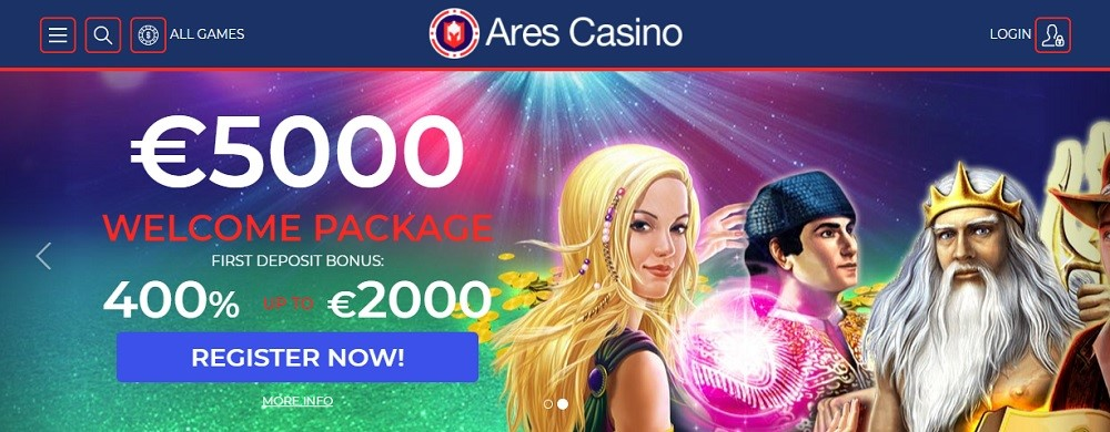 Ares Casino Review