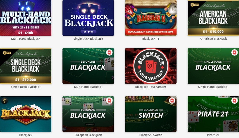 BetOnline Casino Automated Casino Table Games