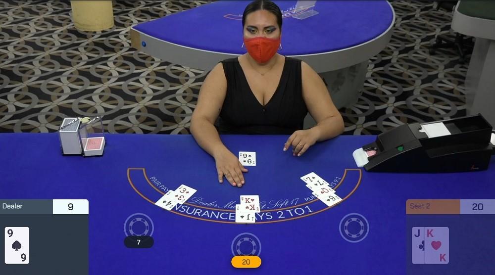BetOnline Casino Live Blackjack