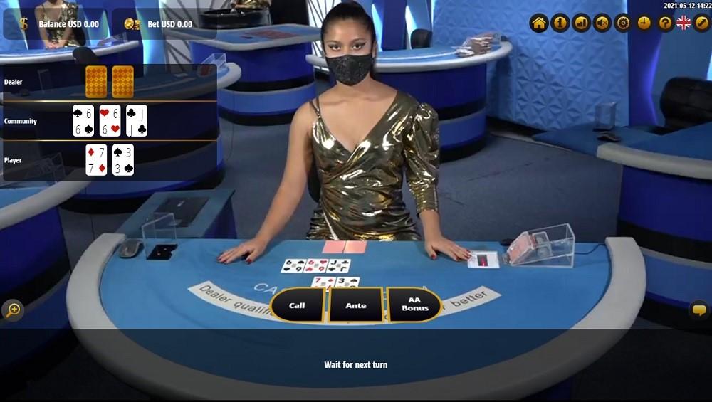 BetOnline Casino Live Poker