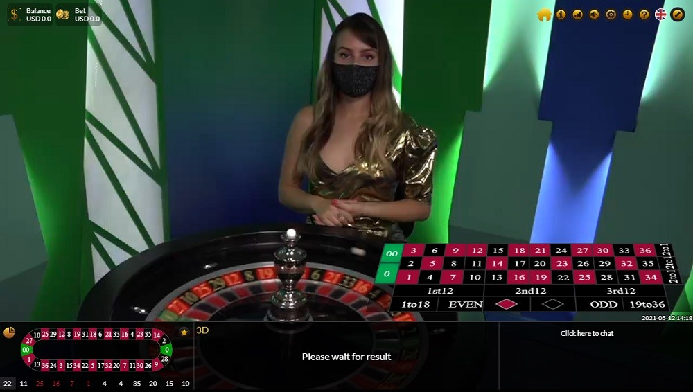 BetOnline Casino Live Roulette