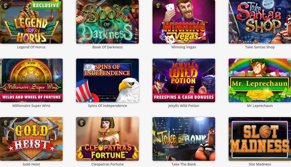 BetOnline Casino Slots