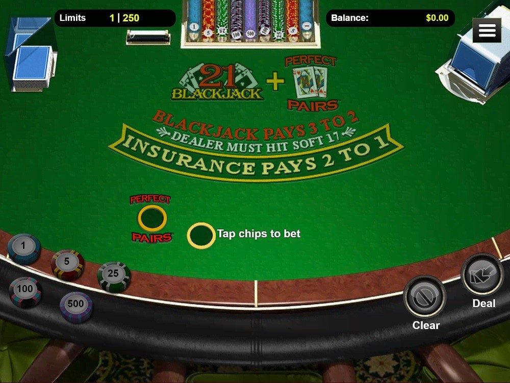 Bovegas Casino Automated Blackjack