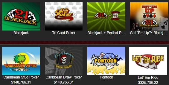 Bovegas Casino Automated Casino Table Games