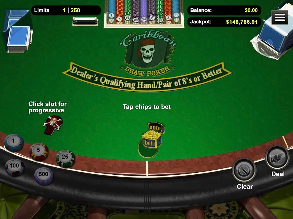 Bovegas Casino Automated Poker