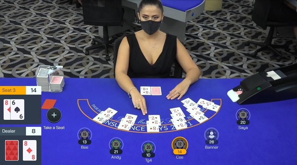 Bovegas Casino Live Blackjack