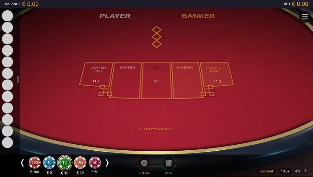 Casimba Casino Automated Baccarat