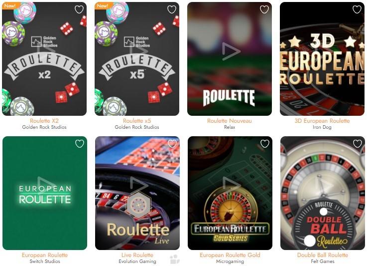 Casimba Casino Automated Casino Table Games