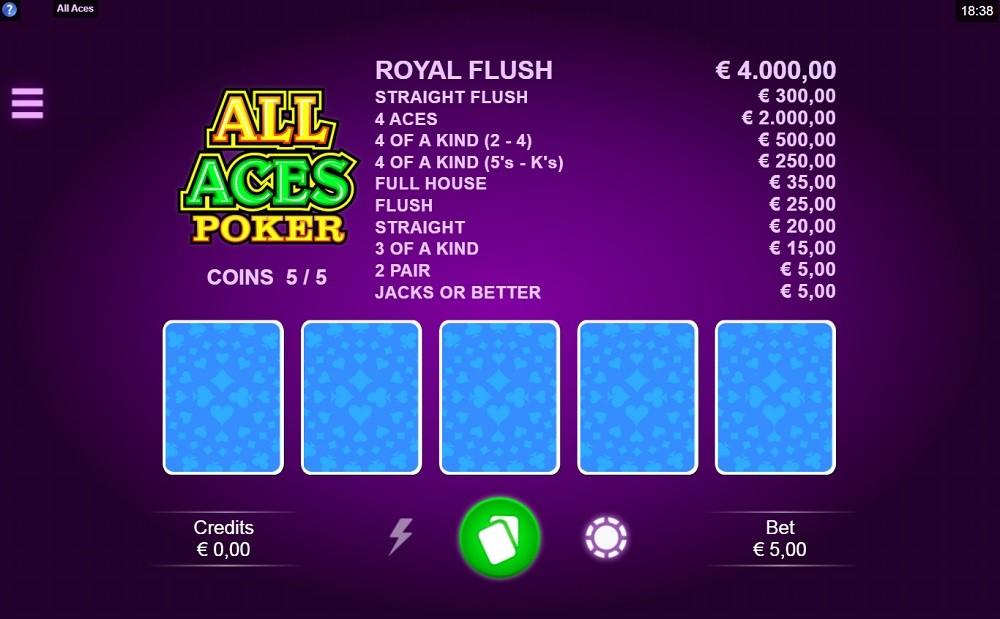 Casimba Casino Automated Poker