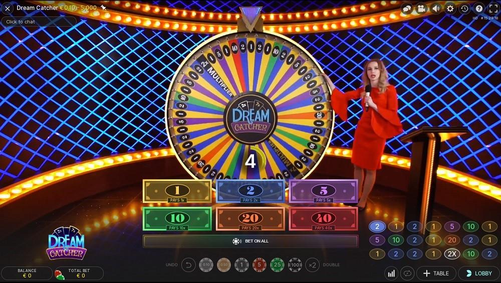 Casimba Casino Live Game Show