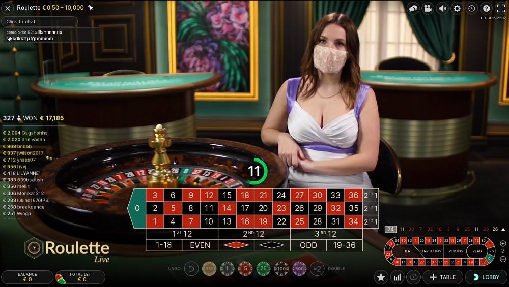 Casimba Casino Live Roulette