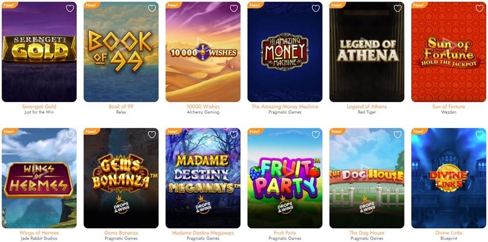 Casimba Casino Slots