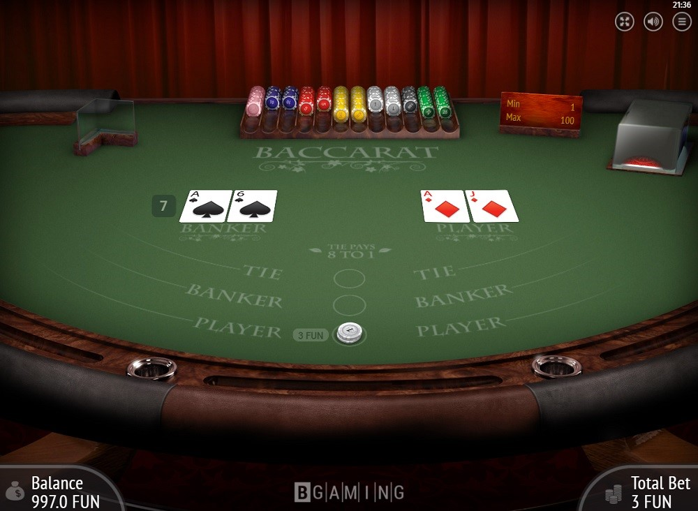 Casino Bordeaux Automated Baccarat