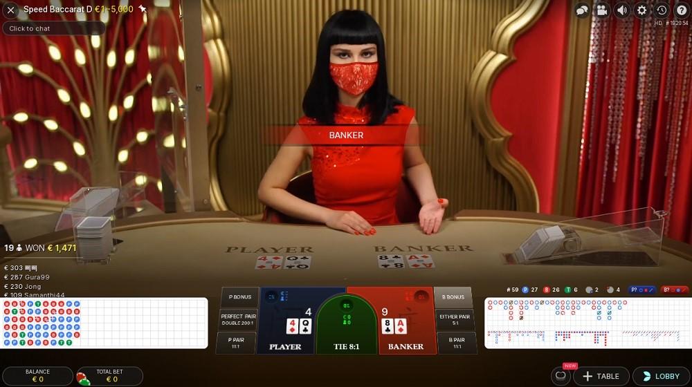Casino Bordeaux Live Baccarat