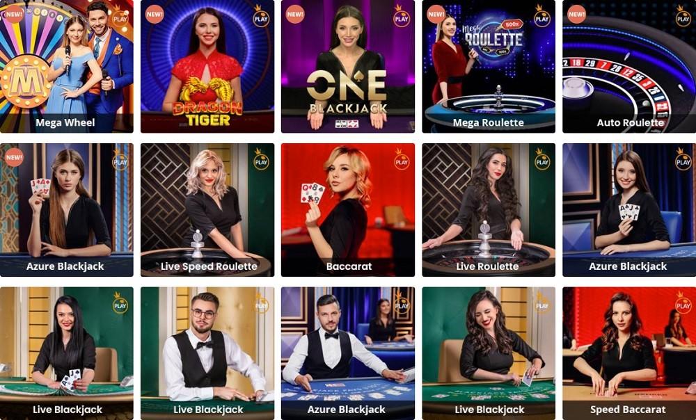 Chanz Casino Live Casino Games