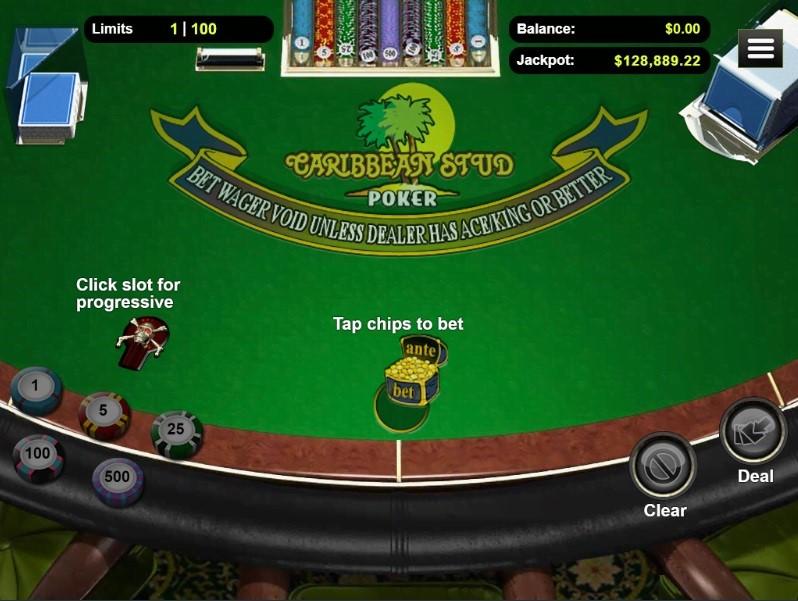 Club World Casino Automated Poker