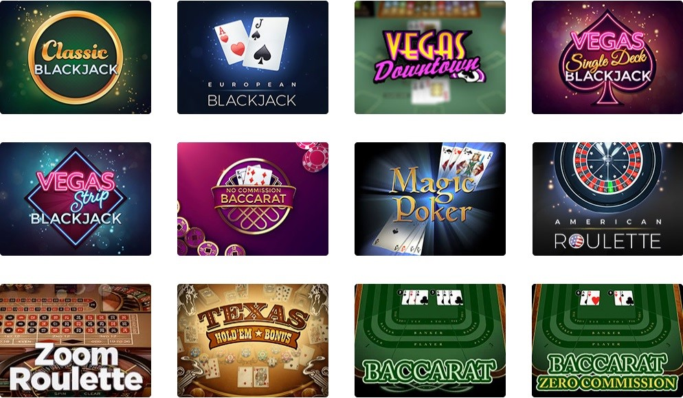 Dingo Casino Automated Casino Table Games