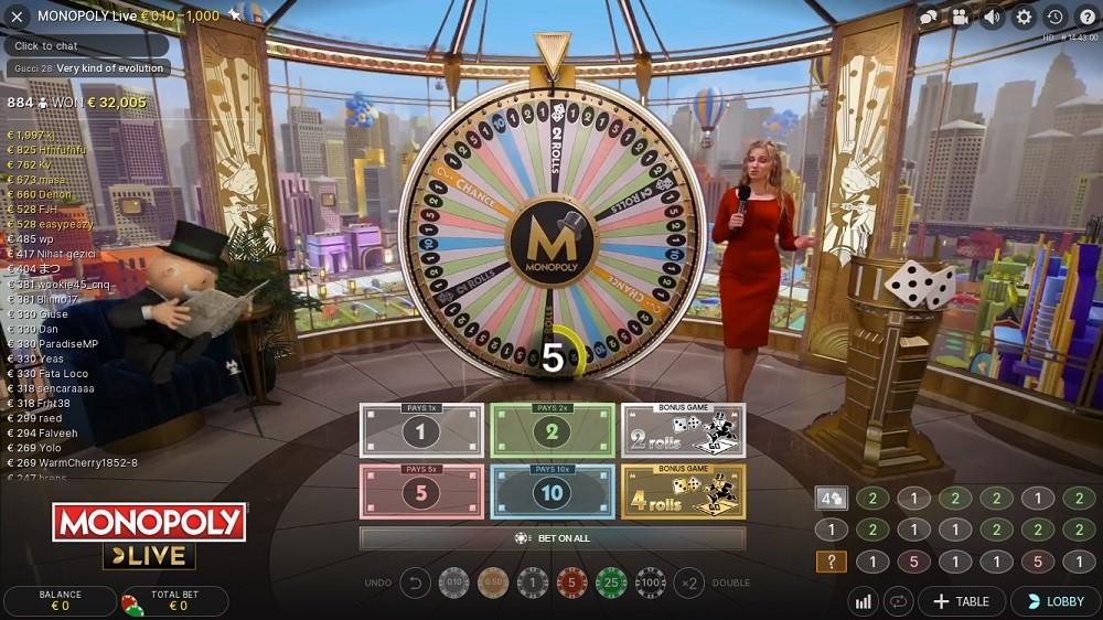 Dingo Casino Live Game Show