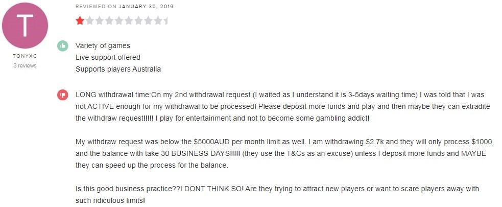 Dingo Casino Player Review 5