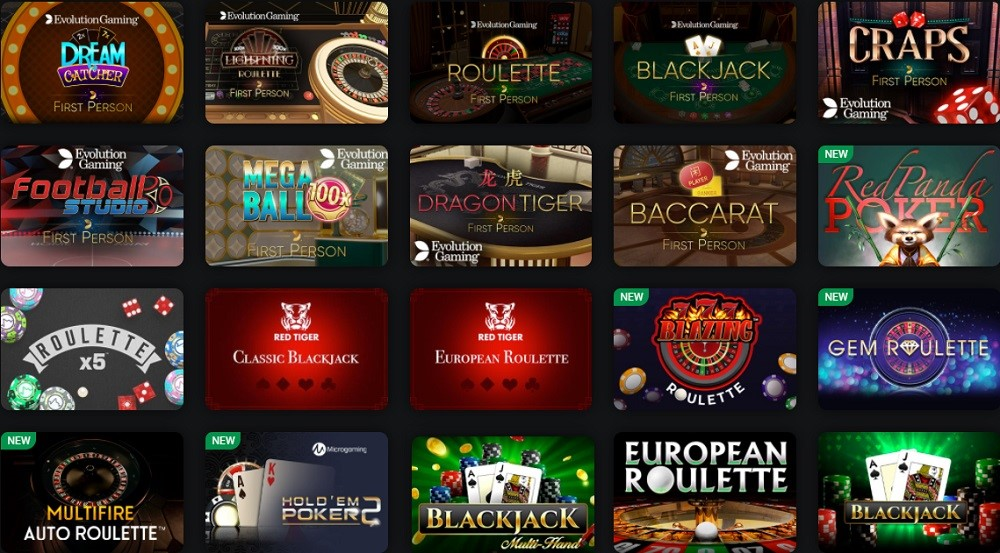 Drift Casino Automated Casino Table Games