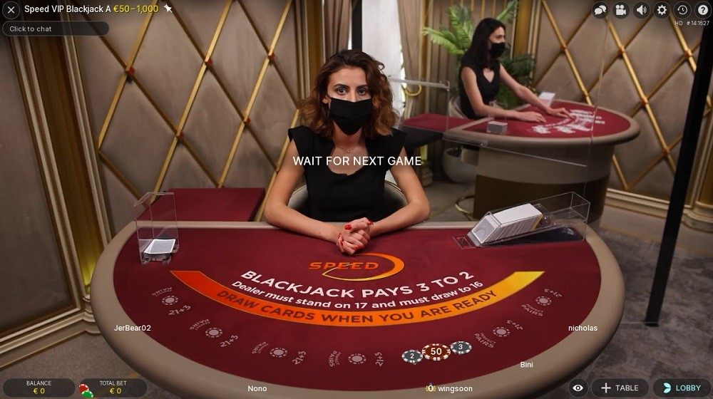 Drift Casino Live Blackjack