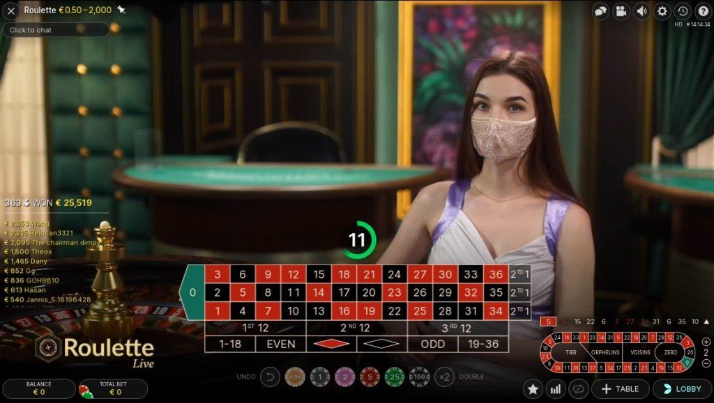 Drift Casino Live Roulette