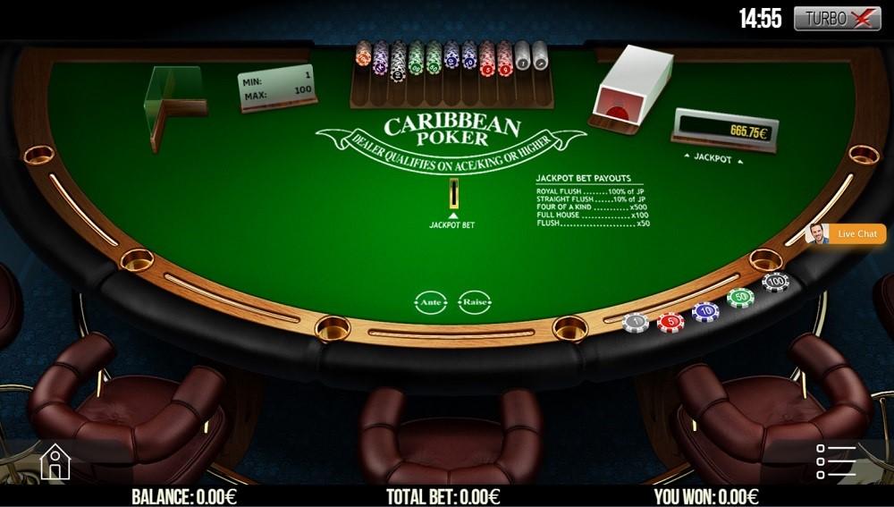 Enzo Casino Automated Poker