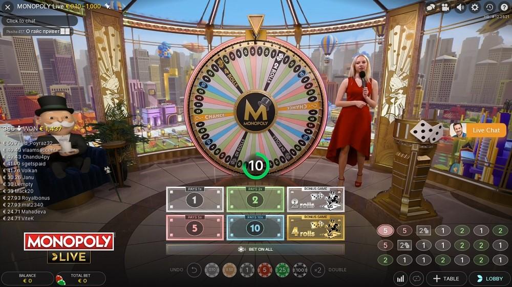 Enzo Casino Live Game Show