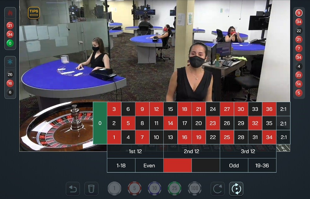 Free Spin Casino Live Roulette