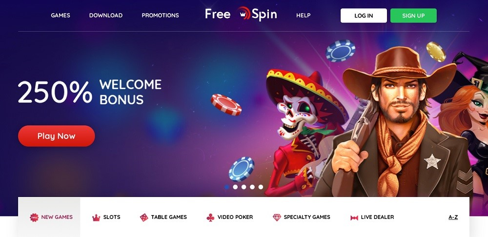 Free Spin Casino Review