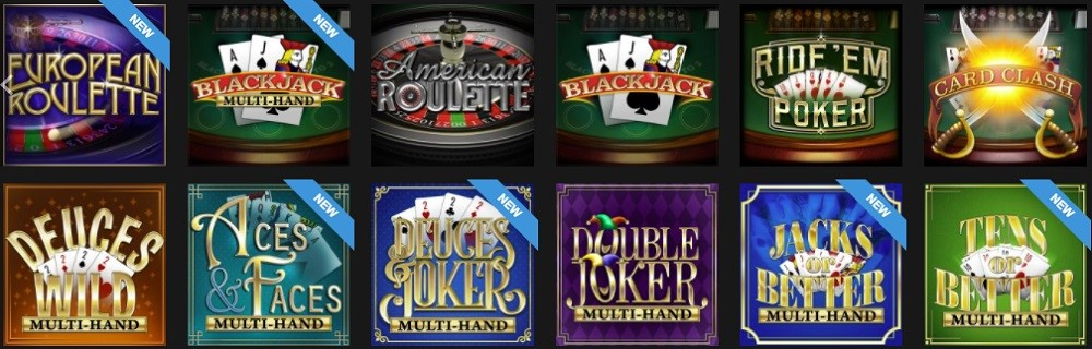 Golden Lion Casino Automated Casino Table Games