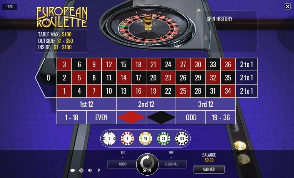 Golden Lion Casino Automated Roulette