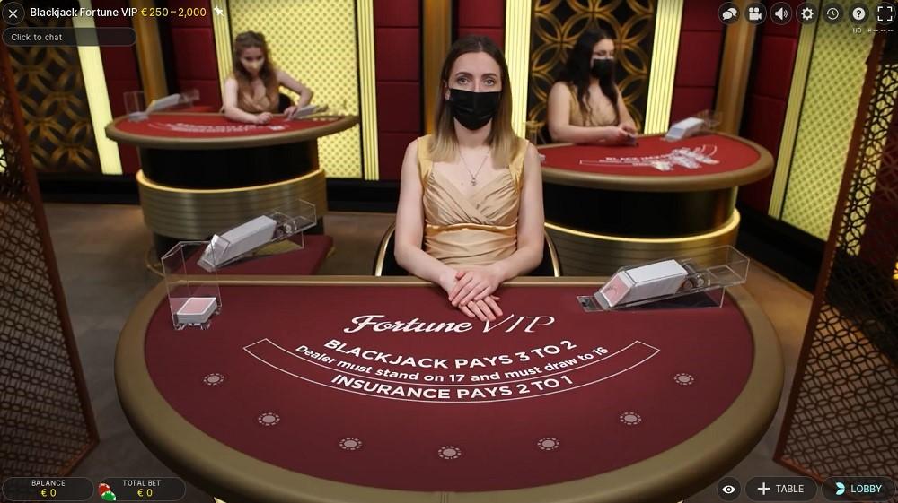 Goodwin Casino Live Blackjack