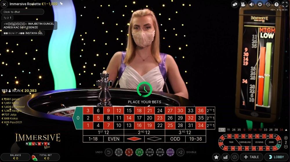 Goodwin Casino Live Roulette