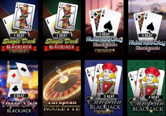 Grand Eagle Casino Automated Casino Table Games