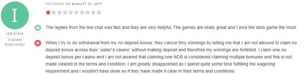 Grand Eagle Casino Player Review 3