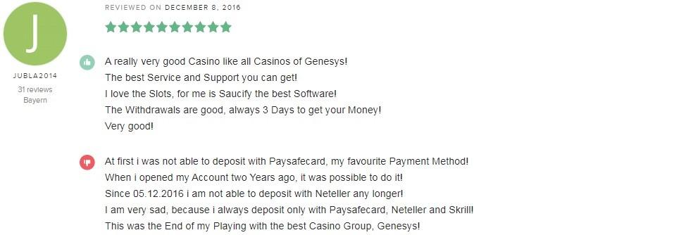Grand Eagle Casino Player Review 5