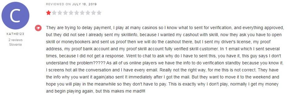 Gratorama Casino Player Review 2
