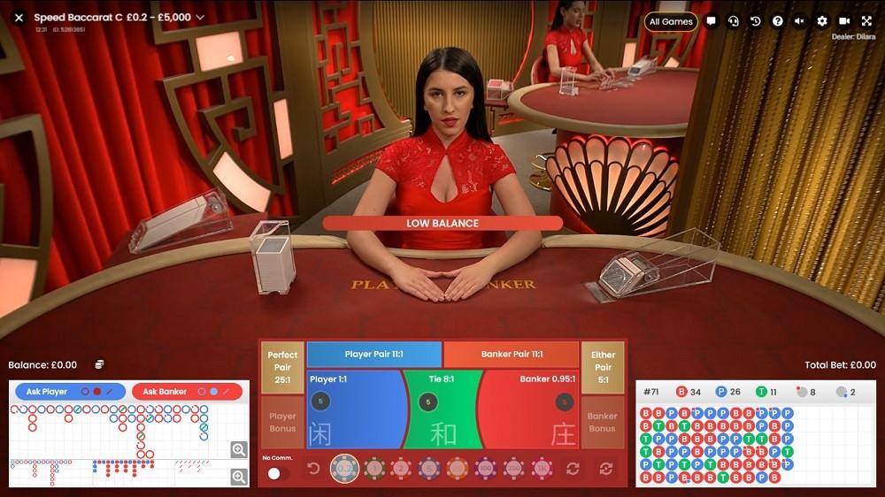 Hello Casino Live Baccarat