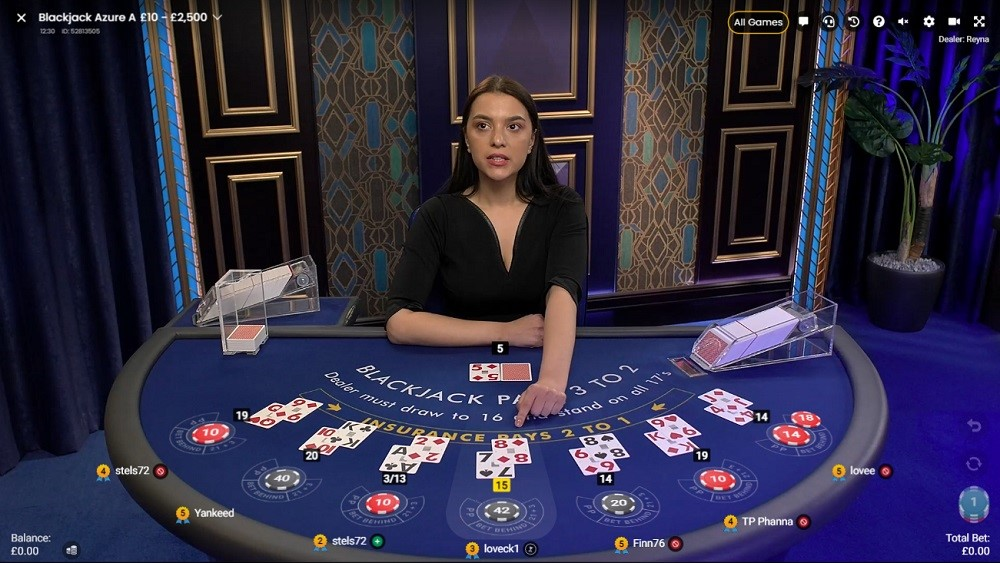 Hello Casino Live Blackjack